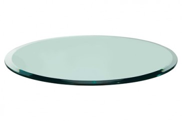 "42"" Round Glass with Bevel"