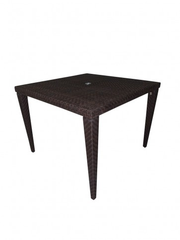 "Atlantis Patio Woven Square 40"" Dining Table"