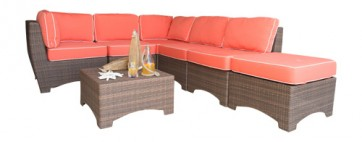 Key Biscayne 7 PC Sectional