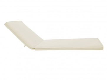 Optional off-white cushion for Onyx Double Chaise Lounge