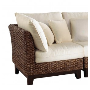 Sanibel Corner Chair with cushion