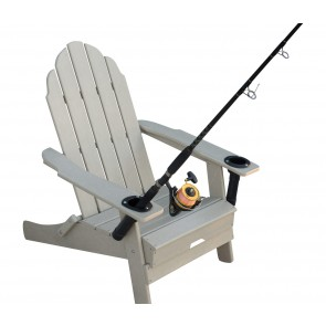 Hydra Shade Anglers Folding Adirondack Chair w/cup & rod holders