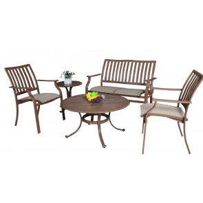 Island Breeze 5 PC Sling Seating Group
