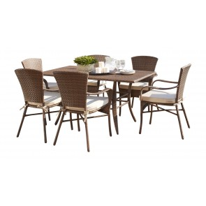 Key Biscayne 7 PC Rect. Dining Set