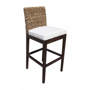 Sanibel Barstool w/beige cushion